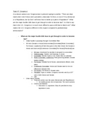 Political science 21A introduction to American politics final study guide