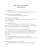 Intro to Drug & Alcohol Studies Lesson 4 Questions .pdf