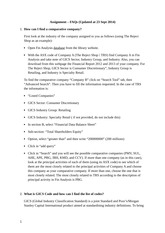 Assignment - FAQs. (Updated at 23 Sept 2014)(1)