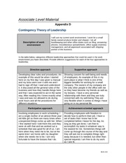 Appendix D Contingency Theory of Leadership