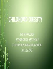 CHILDHOOD OBESITY final project.pptx