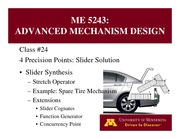 Lecture 24 on Advanced Mechanism Design