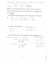 sample mean practice problems