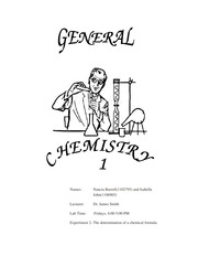 CHEM LAB # 2- 2nd  draft