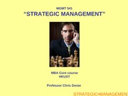 Strategic Management - Driving Force