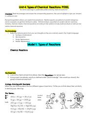 Copy_of_POGIL_Types_of_Chemical_Reactions - Unit 4 Types ...