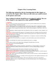 CIS3390_Chapter08_Key Learning Points
