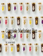 Complete Marketing Plan