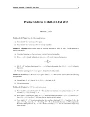 Math351-LinearAlgbera-Fall2015-Practise-MidTerm1