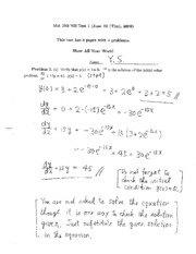 Test 1with Solutions