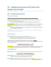 22 – Adding Government and Trade to the Simple Macro Model.docx