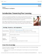 Has anyone taken CRE 101 critcal reading ONLINE?