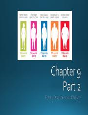 Chapter 9 Eating Disorders and Obesity Part 2.ppt