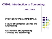 4 Computer-Programming-CS101-Fall2009