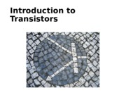 EE 480 Introduction to transistors