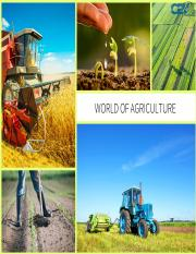World Of Agriculture