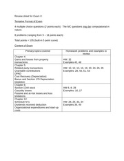 ACC 233 Review sheet for Exam 2-1
