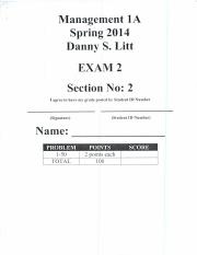 Midterm 2 Spring 2014 solutions (1)
