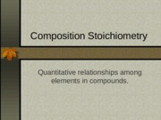 4. Composition Stoichiometry.ppt