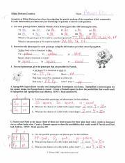 SpongeBob Genetics ANSWER KEY.pdf - | Course Hero