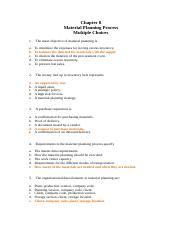 Chp8 MC - Enterprise Systems Material Planning Process.docx
