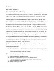 c 823 task 1 redo docx - C 823 Task 1 1 Lack of Skill Training