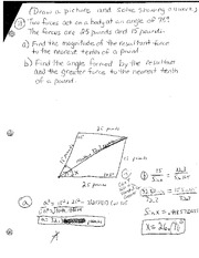 Triangles and Angle Measures Test