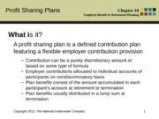 Ch.18_Profit Sharing Plans