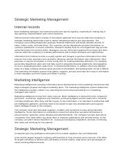 Strategic Marketing Management.docx