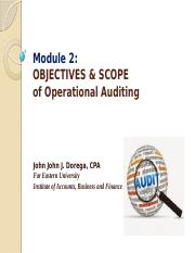 4- OBJECTIVES AND SCOPE OF OPERATIONS AUDITING.pptx