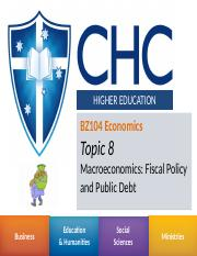 Week 9 - Fiscal Policy and Public Debt.pptx