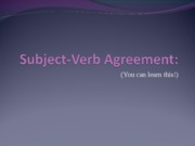 Subject-Verb_Agreement2PPT