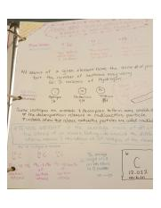 Sketchnoting - Chemistry of A&P