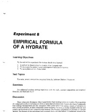 'Empirical-Formula-of-a-Hydrate'-Determining-the-Empirical-Formula-of-a-Hydrate-Laboratory-Lesson-Pl
