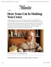 How Your Cat Is Making You Crazy - The Atlantic.pdf
