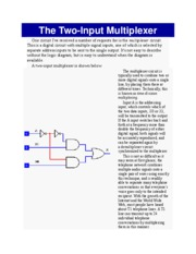 The Two-Input Multiplexer