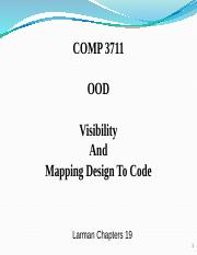10.Visibility and Mapping Design to Code