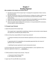 CCNA1 Chapter 07 - Reading Organizer