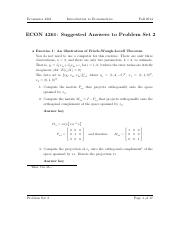 Spring 4261 Problem Set 2 Answers