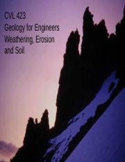 Lecture 6 Weathering, Soil and Erosion  Sept 2011 NOTES.pdf