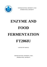 Enzyme and Food Fermentation- Laboratory Manual (2013)