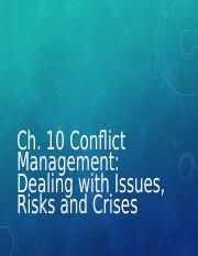 231 Ch10 Conflict.ppt