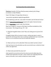 AAST 220 - Assignment - The Chicago Race Riot Exercise (1).docx