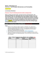 exercise 1 cell transport mechanisms and permeability worksheet Worksheet ap01 uploaded by abhishek cell transport mechanisms and permeability choose exercise 5b: cell transport mechanisms and permeability from the drop.