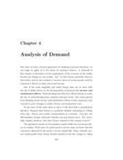 Chapter 4 - Analysis of Consumer Decisions
