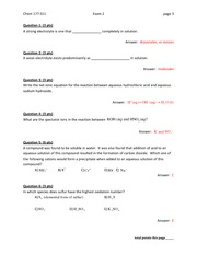 Chem 177 Spring 2011 exam 2 answers