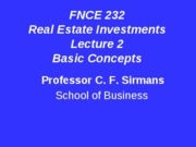 Lecture+2++FNCE+232+Basic+Concepts