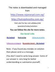 RTS solution 2068-2072ex2070 pdf - The notes is downloaded and