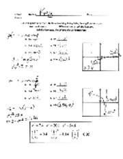 3.3 - 3.5 Log  lab 1 Basic Graphing, Rules, Solving Equations Answer Key
