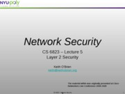 lecture 10 - Layer 2 Switch Security